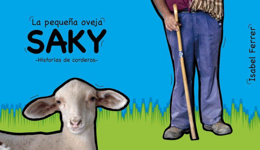 la pequeña oveja Saky